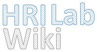 HRI Lab Wiki